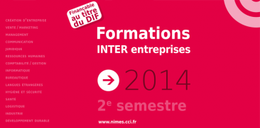 Calendrier des formations - Second semestre 2014