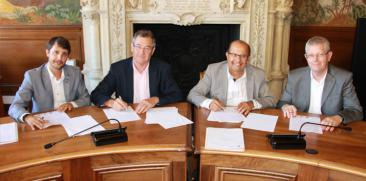 Signature de convention Agefice